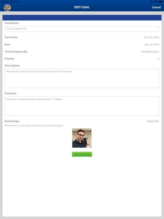 RapidGoals Coaching screenshot #2