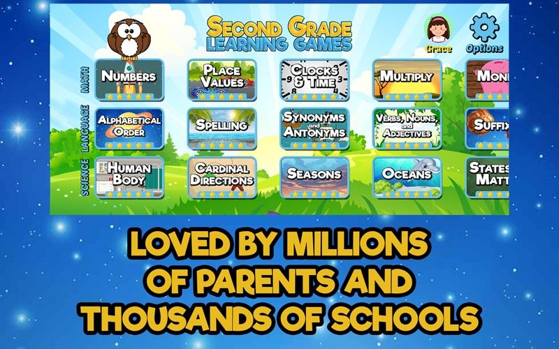 Second Grade Learning Games screenshot 4
