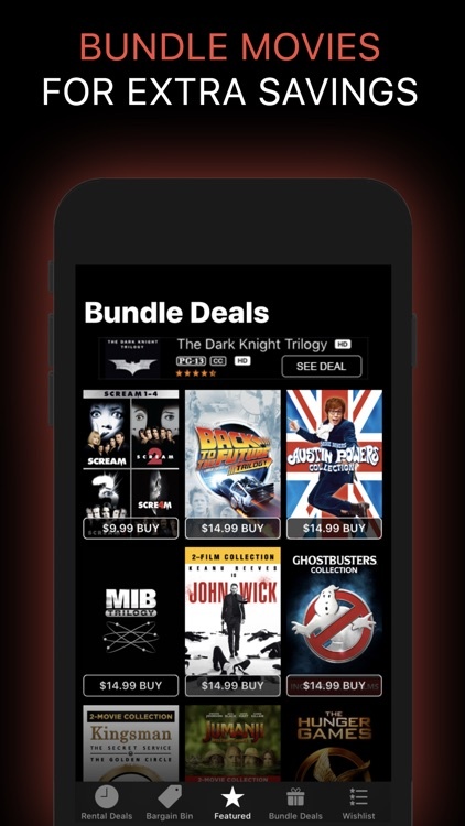 Movie Deals: Cheap Movies App screenshot-5