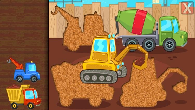 Kids Car, Trucks - Puzzles screenshot-3