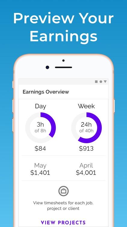 Hours Tracker: Work Timesheets