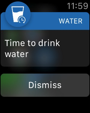 Water Balance Tracker Screenshot
