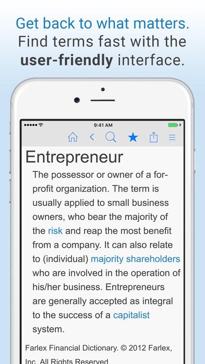 Business Dictionary by Farlex screenshot-4