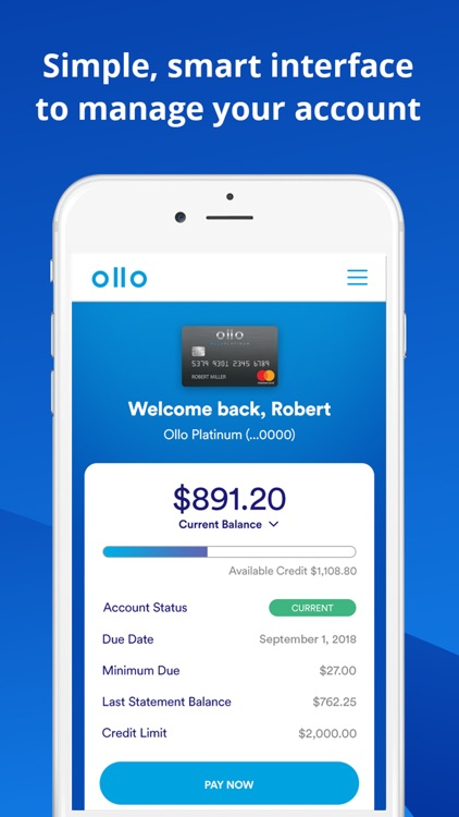 Ollo Credit Card
