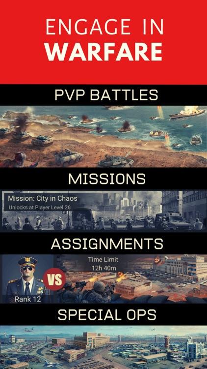 Warzone Military Strategy Game screenshot-3