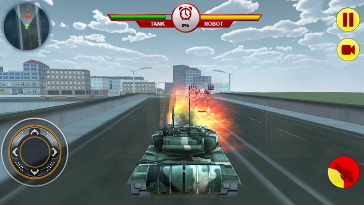 Tank Vs Robot: War For Planet