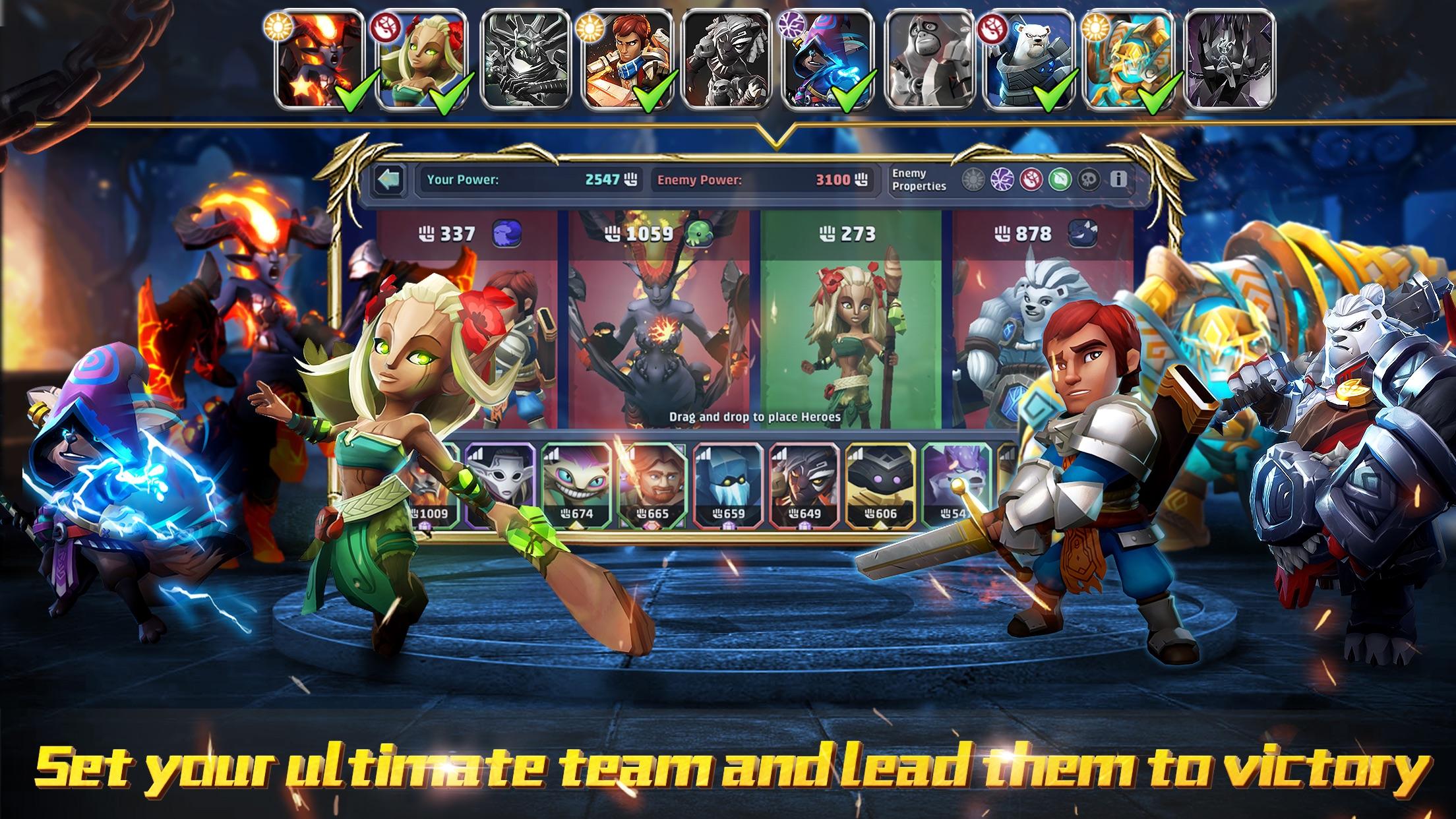 Lionheart: Dark Moon RPG Screenshot