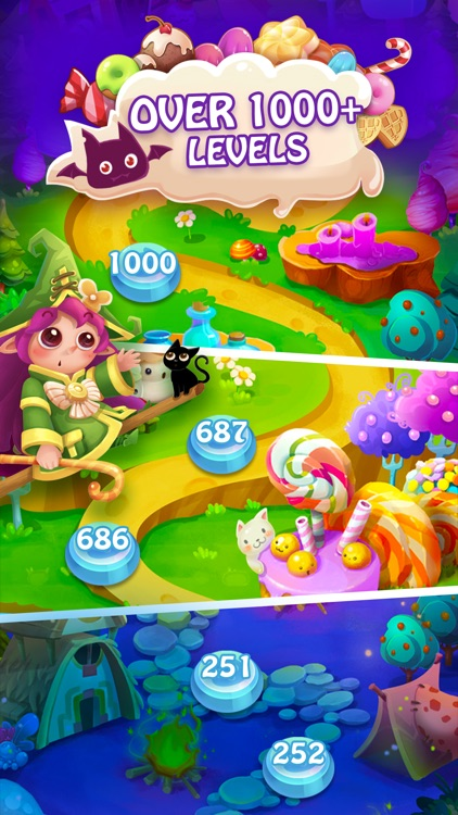 Candy Fever - Match 3 Games screenshot-2