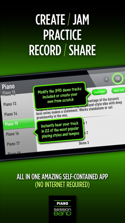 SessionBand Piano 1 screenshot-3