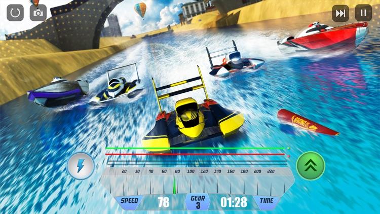 Speed Boat Racing Simulator 3D