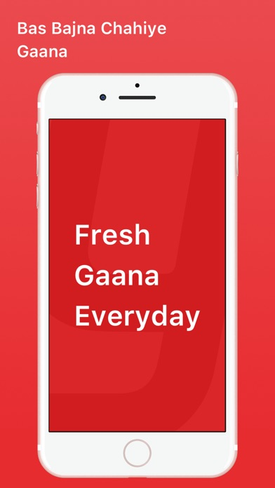 Screenshot for Gaana Music - Songs & Radio in Ecuador App Store