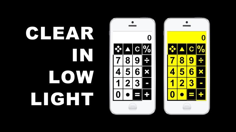 Big Calculator Low Vision screenshot-3