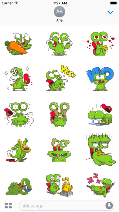 Weird Snail - Funny Sticker screenshot 2