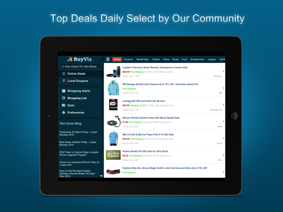 BuyVia – Free Coupon Codes, Discount Deals, Online Shopping & Deals App screenshot