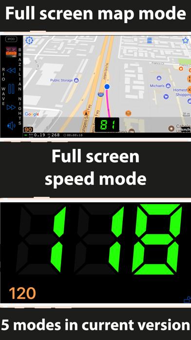 Speedometer 55 Start. GPS Box. screenshot three