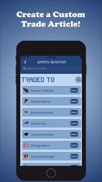Sports Reporter screenshot-9