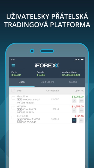 Screenshot for Invest & Trade CFD by iFOREX in Czech Republic App Store
