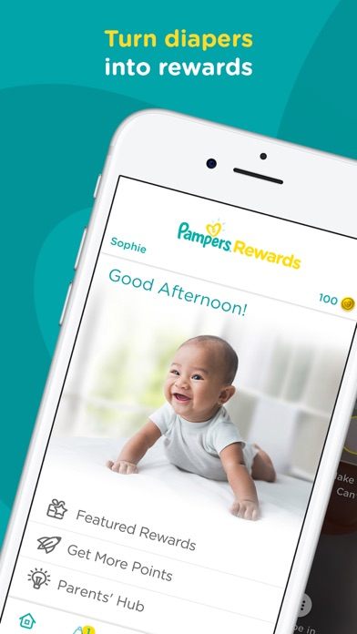 Screenshot for Pampers Club - Rewards & Deals in United States App Store