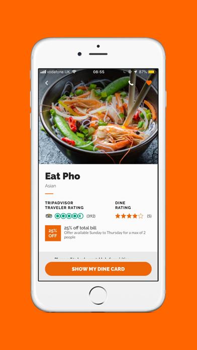 Dine screenshot four