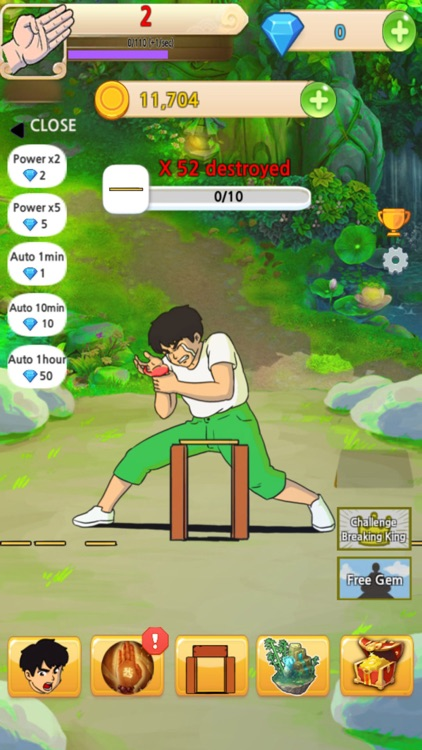 Slashing Kungfu Kata Training