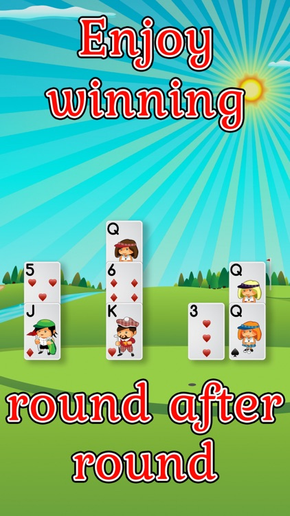 Golf Solitaire Pro! screenshot-3