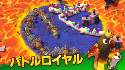 Snake Rivals - 新たな3Dのミミズゲームのおすすめ画像3