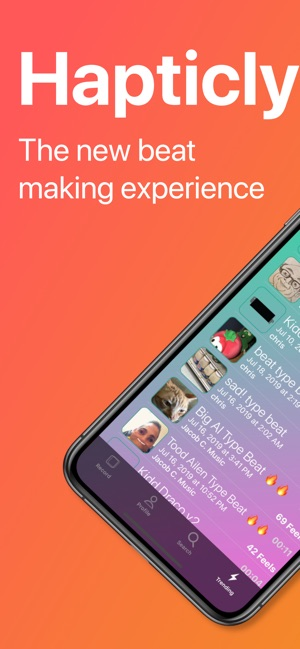 Hapticly on the App Store