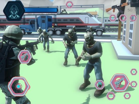 зомби игры на выживание 3d 201 для iPad