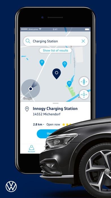Volkswagen We Connect screenshot two