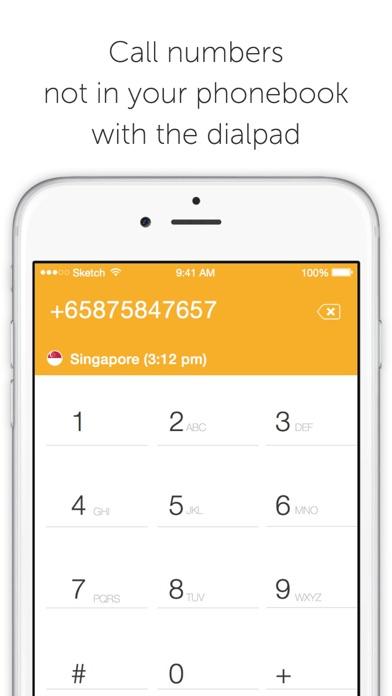 Ringo: Low cost calls screenshot three