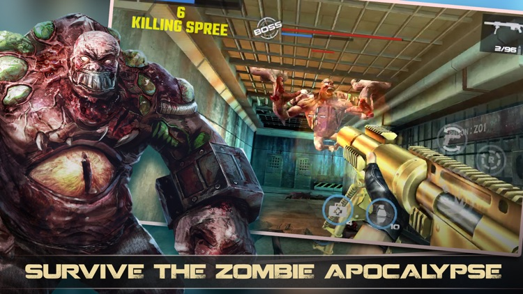 DEAD TARGET - Zombie Shooting
