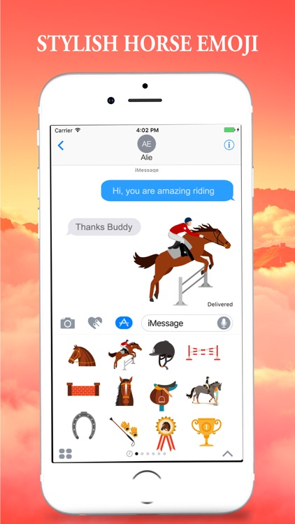 Horse Emojis for iMessage screenshot-4