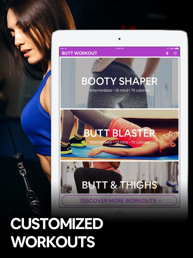 ‎Butt Workout by 7M | Booty App Screenshot