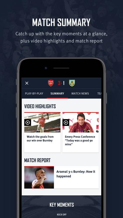Arsenal Official App screenshot-7