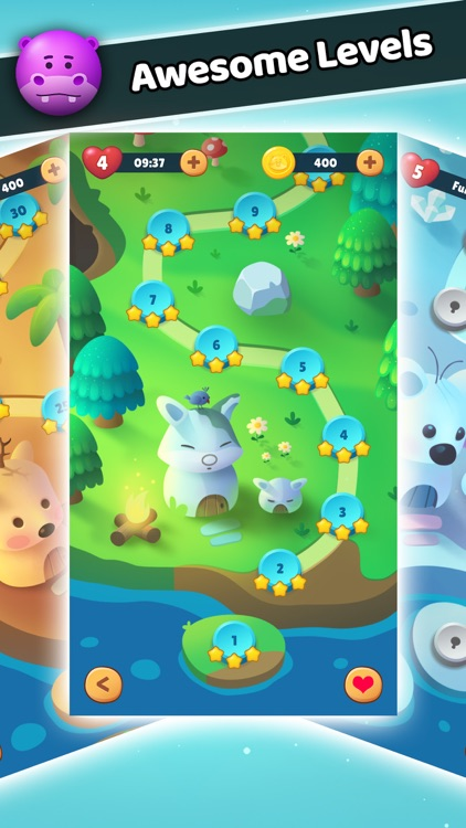 Bubble Shooter - Pop Pet Saga screenshot-3
