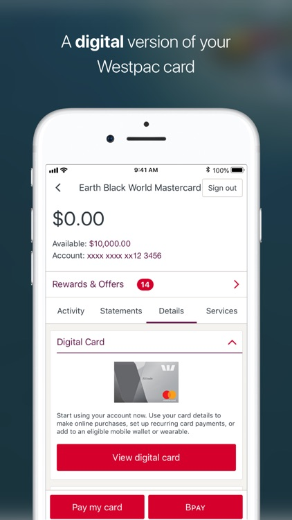 Westpac Mobile Banking screenshot-3
