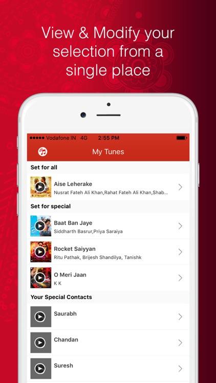 Vodafone Callertunes (India) screenshot-3