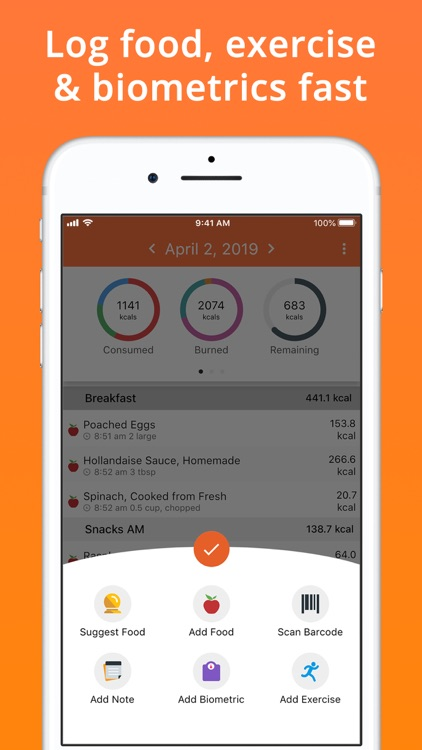 Cronometer · Nutrition Tracker screenshot-4