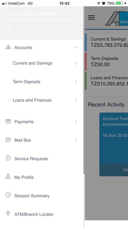 AZANIA INTERNET BANKING APP screenshot-3