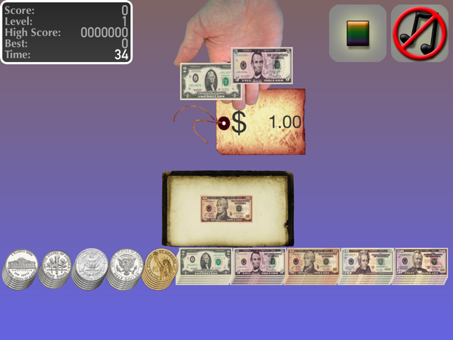 ‎Learn to count with money Screenshot