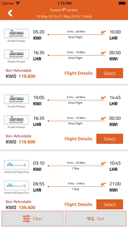 FlyBooking screenshot-4