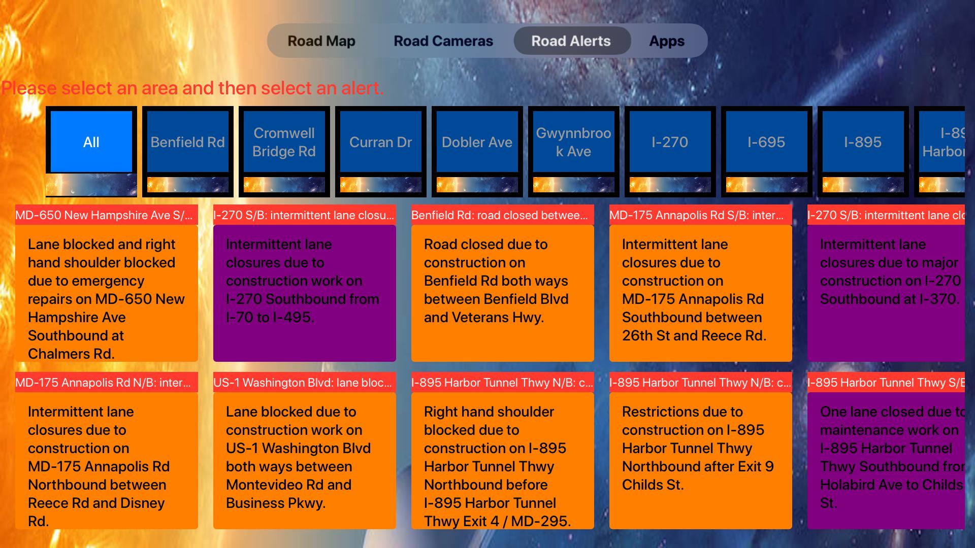 Road Conditions Lite screenshot 18