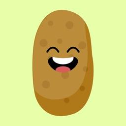 sweet potatoes emoji stickers