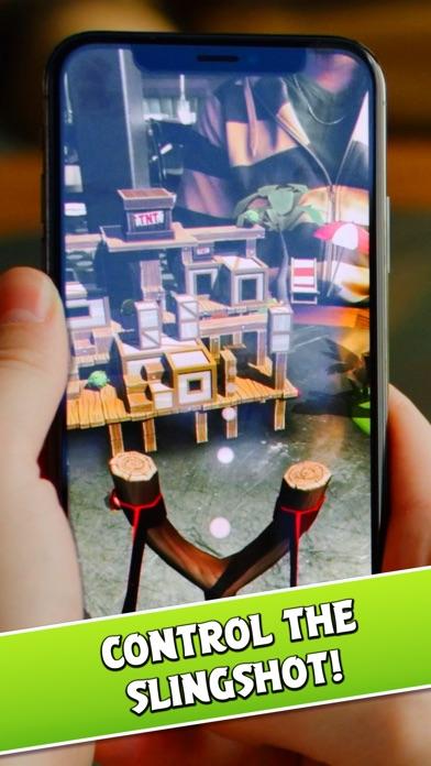 Angry Birds AR: Isle of Pigs screenshot 5