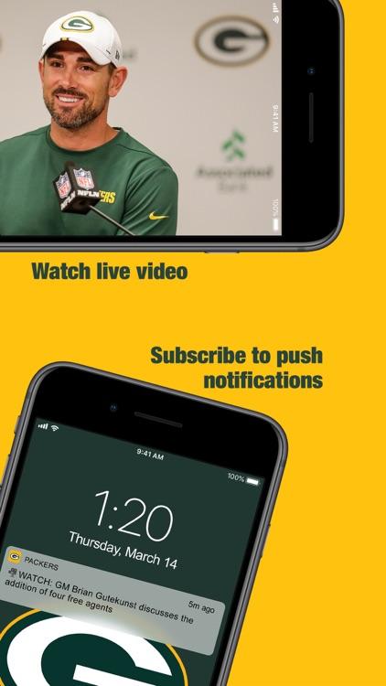 Official Green Bay Packers screenshot-5