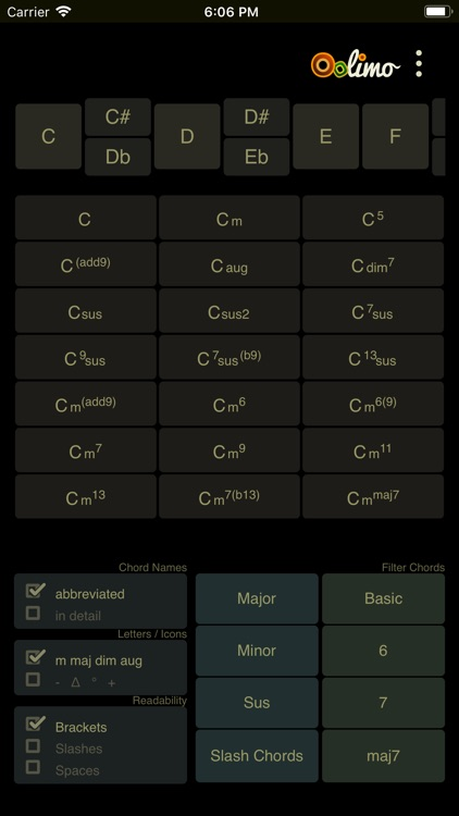 Oolimo Guitar Chords screenshot-1