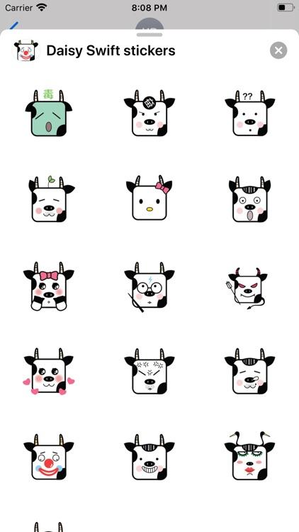 Daisy Swift stickers