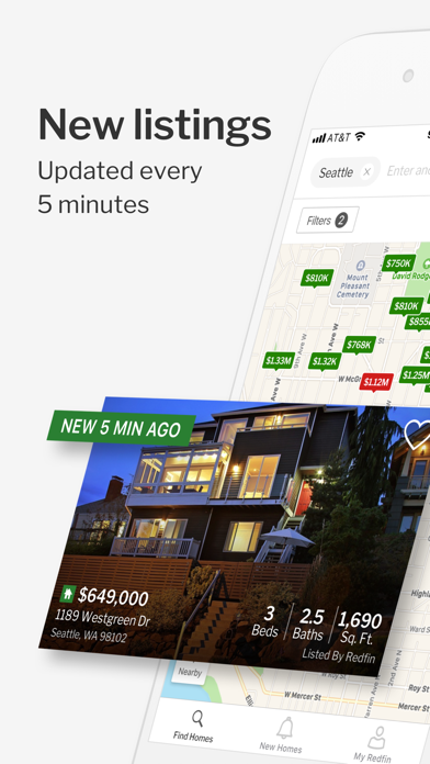 Redfin Buy Sell Real Estate review screenshots