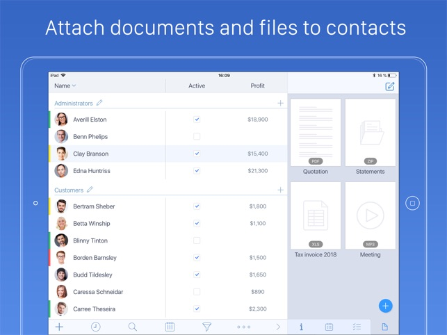 Top Contacts - Contact Manager Screenshot
