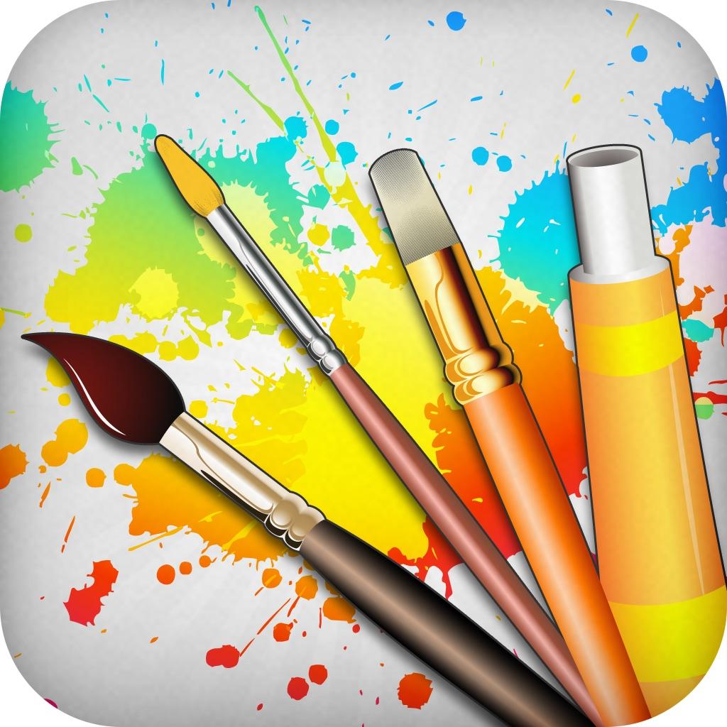 绘图工具 - 艺术绘画和绘画白板游戏对于手机